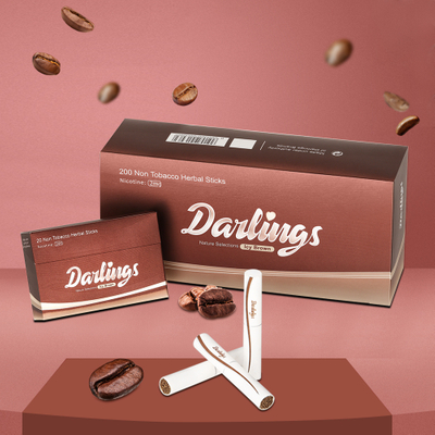 Darlings Heat Not Burn Herbal Sticks: Coffee Flavor (2mg)